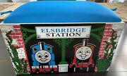 Thomas The Tank Engine Elsbridge Station Toy Box And Cushioned Bench. Pre-owned