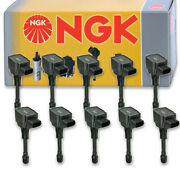 10 Pcs Ngk 49024 Ignition Coil For U5119 Ic812 Uf549t Uf739 49024 Ic629 Ts