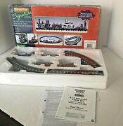 Lemax Spooky Town Express Train Set-retired 17 Pc 94954- Does Not Work Read Note
