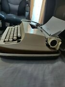 Sears Citation Typewriter Manual White With Black Removable Case