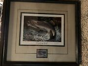 Terry Redlin First Of State 1982 Mn Trout Stamp Conservation Print 15/40