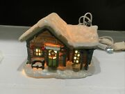 Enesco It's A Wonderful Life Martini's Bar And Bedford Falls Sign Very Nice