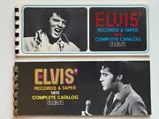 Vintage Rare Original 1971 And 1972 Elvis Presley Rca Records And Tapes Catalogs
