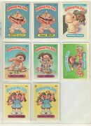 1985 Topps 2nd Series Garbage Pail Kids Trading Cards Lot 51 Cards