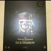 Hot Toys Captain Jack Sparrow Pirates Of The Caribbean Action Figure Dx 06 New