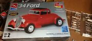 Amt Ertl '34 Ford Street Rod Nostalgia Series - Lots Of Extra Parts