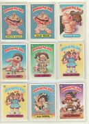 1985 Topps 2nd Series Garbage Pail Kids Trading Cards Lot 29 Cards Ex-nm