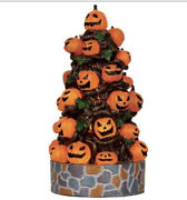 Rare And Retired - Lemax Spooky Town - Lighted Pumpkin Tree 2013 Nib Halloween
