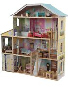 Kidkraft Majestic Mansion Wooden Dollhouse With 34-piece Accessories Kids Gift