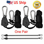 1/8 Rope Ratchet Hanger For Led Grow Light Carbon Filter Reflector Hydroponic