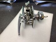 Used Rare Vintage Chesler Bargman T-5 Trailer Lock For Airstream