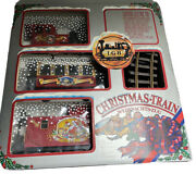 Lgb Christmas Train Set 72550 The Big Train G Scale Indoor Outdoor Tested
