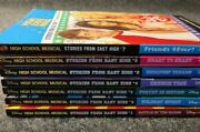 High School Musical Books 1-7 , Stories From East High , Lot Of 7 Books M5