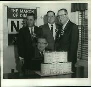 1968 Press Photo Business Division Leaders For March Of Dimes Campaign
