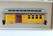 Ho-roundhouse 3785 Barnum And Bailey Circus Combination Car New Kit