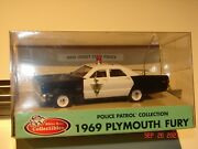 White Rose Collectibles New Jersey State Police 1969 Plymouth Fury 1/43 Diecast