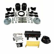 Air Lift Rear 5000 Load Lifter And Quickshot Air Compressor For Ford F-250/350