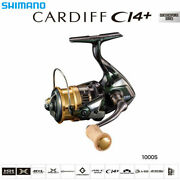 Shimano Cardiff Ci4+ 1000s 2018 Spinning Reel Compact Spool And Rotor New F/s