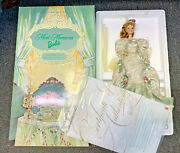 1998 Mint Memories Barbie Victorian Tea Porcelain Toy Doll W/ Box And Papers 12