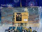 2021 Disney Parks Woven Tapestry Wall Hanging 50th Cinderella Castle Mccullough