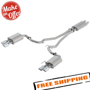 Borla 1014045 Touring Cat-back Exhaust System For 18-20 Ford Mustang Gt 5.0l V8