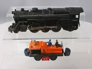 Lionel 50 And 2035 Vintage O Gauge Assorted Motorized Car And 2-6-2 Steam Loco [2]