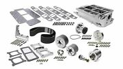 The Blower Shop 2611 Sbc Intake And 671 Drive Accessory Kit 2v