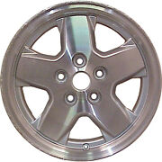 Oem Reman 16x7 Alloy Wheel Rim Charcoal Silver Painted With Machined Face-9038