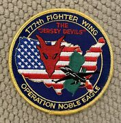 177th Fighter Wing The Jersey Devils Patch 4andrdquo