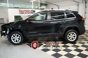 2014 Jeep Cherokee Latitude 4wd Best Offer 2014 Jeep Cherokee 4wd Low Miles Repairable Salvage Suv Rebuildable Damaged