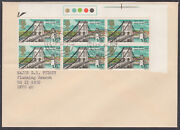 1968 British Bridges 1s6d And039traffic Lightsand039 Fdc Fpo 980 Cds Hq 15 Abodbfpo 40