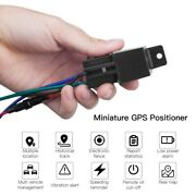 Mini Tracker Auto Locator Shock Overspeed Alert Remotely Cut Off Oil And Power
