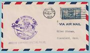 United States Amelia Earhart Special Pilot Cover Detroit 1929 - Cv68