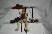 Vintage Marx Best Of The West Geronimo Action Figure