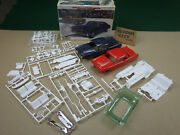 Pair Of Excel 1955 Pontiac 1/25 Scale Model Kits Coupe And Sedan