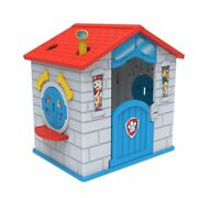 Nick Jr. Paw Patrol Plastic Indoor/outdoor Playhouse With Easy Assembly By Delta