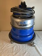 Silver King Blue Max Air 2000 Canister Wet And Dry Vacuum W Hose Only