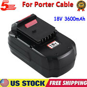 For Porter Cable 18v 3.6ah 18volt Cordless Power Tools Ni-mh Battery Pc18b