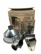 Vintage 1979 Original All Metal Squeezo Strainer Model 400-ts Canning Food Mill