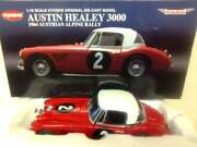 Kyosho 118th Scale 1964 Austin Healey 3000 Austrian Alpine Rally Mint And Boxed