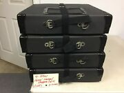 16mm Film 3-4 Reel Storage/shipping Black Cases New 4 Per Lot As Shown