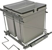 Hafele 503.00.523 Salice Pull-out Waste Bin System - Silver
