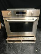 Monogram Zet1phss 30 Electric Euro Convection Wall Oven Wi-fi Pro Handle Ss