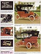 1909 Ford Model T Article + New York To Seattle Car Race Car - Must See