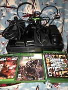 Microsoft Xbox One 500gb Console Controller 4 Games ,headset, Controller Charger