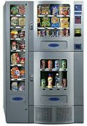 Seaga Antares Office Deli Snack And Drink Combo Vending Machine Used 2andnbsp
