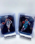 Lamelo Ball Variation Lot 2020-2021 Panini Prizm Rookie Rc 2 Cards Base Hornets