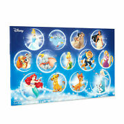 Disney Characters Collectible Coin Advent Calendar - Limited Edition