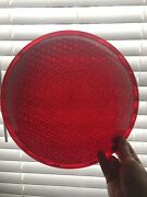 """X6 Eagle Signal Co Traffic Stop Light Red Lenses 12"""" Crafts Man Cave W/ Gaskets"""