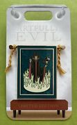 Genuine Disney Parks Trading Pin Artfully Evil Maleficent Banner Limited Edition